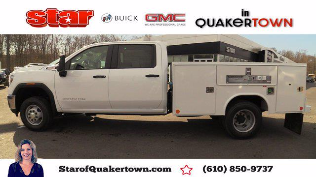 2021 GMC Sierra 3500 Crew Cab 4x4, Reading SL Service Body #Q21120 - photo 1