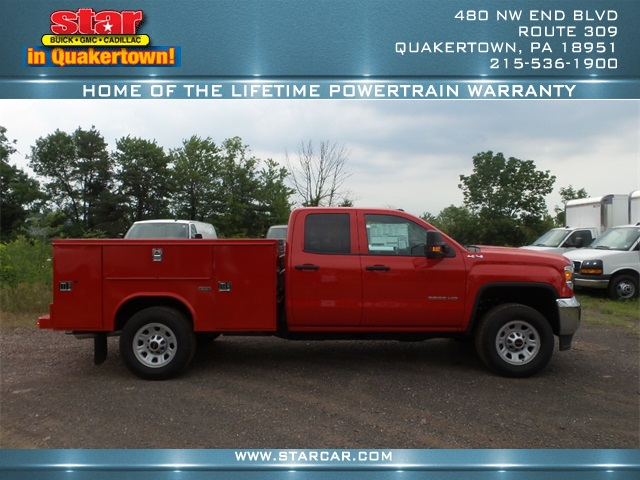 2016 Sierra 3500 Double Cab 4x4, Reading Service Body #Q26084 - photo 4