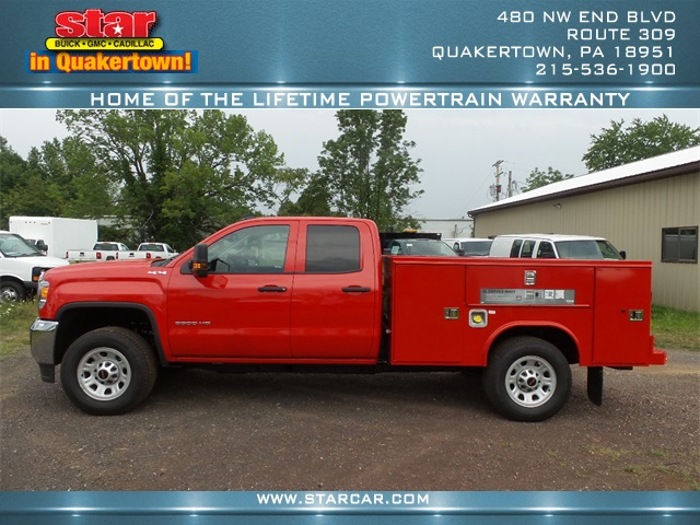 2016 Sierra 3500 Double Cab 4x4, Reading Service Body #Q26084 - photo 6