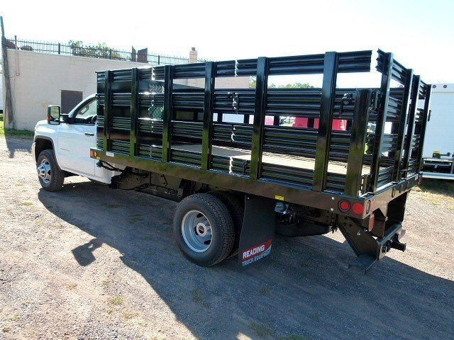 2017 Sierra 3500 Regular Cab 4x4, Reading Stake Bed #Q27114 - photo 5