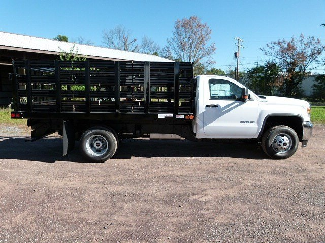 2017 Sierra 3500 Regular Cab 4x4, Reading Stake Bed #Q27114 - photo 7