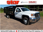 2017 Sierra 3500 Regular Cab 4x4, Reading Stake Bed #Q27114 - photo 1