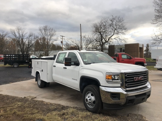 2017 Sierra 3500 Crew Cab DRW 4x4 Service Body #Q27123 - photo 3