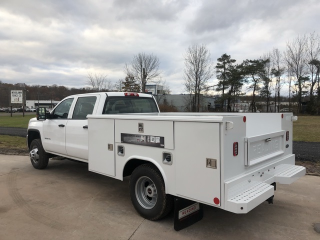 2017 Sierra 3500 Crew Cab DRW 4x4 Service Body #Q27123 - photo 2