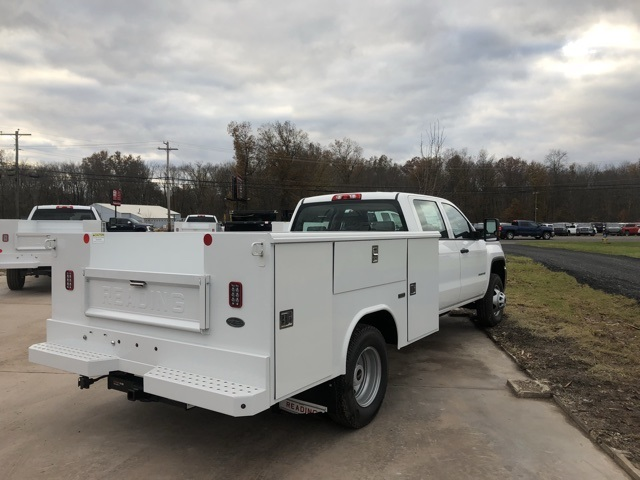 2017 Sierra 3500 Crew Cab DRW 4x4 Service Body #Q27123 - photo 7
