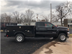 2018 Sierra 3500 Extended Cab 4x4, Reading Classic II Steel Service Body #Q28017 - photo 8