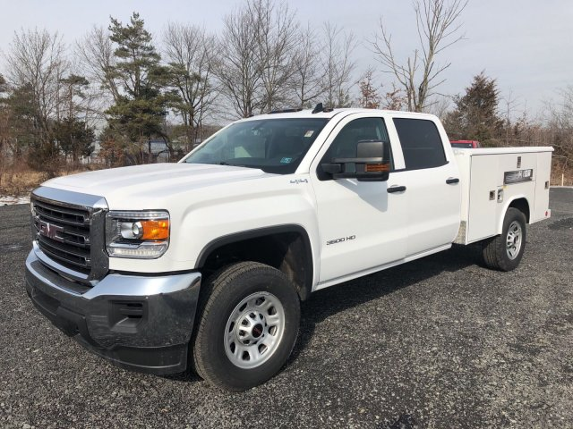 2018 Sierra 3500 Crew Cab 4x4, Service Body #Q28020 - photo 4