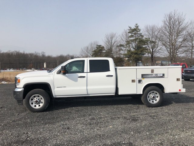 2018 Sierra 3500 Crew Cab 4x4, Service Body #Q28020 - photo 5
