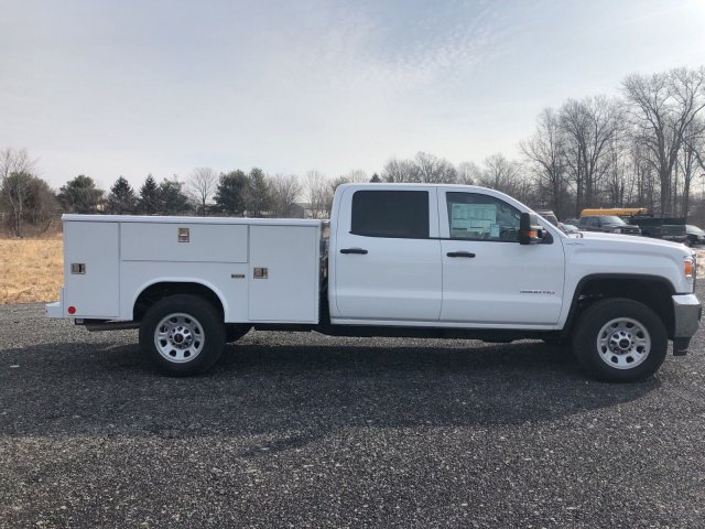 2018 Sierra 3500 Crew Cab 4x4, Service Body #Q28020 - photo 8