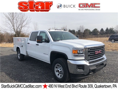 2018 Sierra 3500 Crew Cab 4x4, Service Body #Q28020 - photo 1