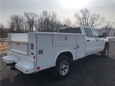 2018 Sierra 3500 Crew Cab 4x4, Service Body #Q28020 - photo 2