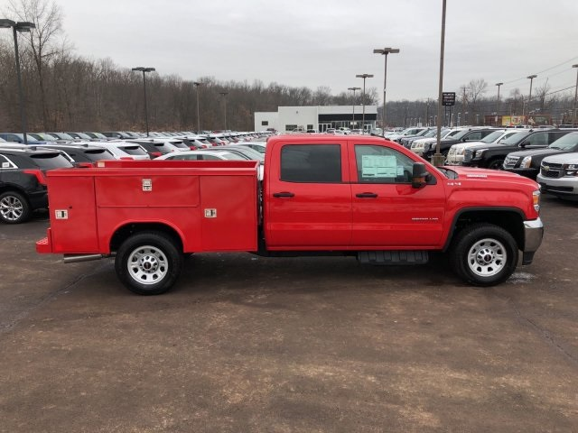 2018 Sierra 3500 Crew Cab 4x4 Service Body #Q28026 - photo 10