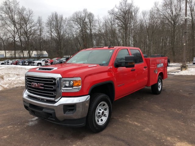 2018 Sierra 3500 Crew Cab 4x4 Service Body #Q28026 - photo 4
