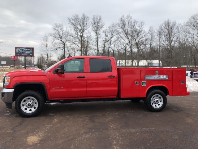 2018 Sierra 3500 Crew Cab 4x4 Service Body #Q28026 - photo 5