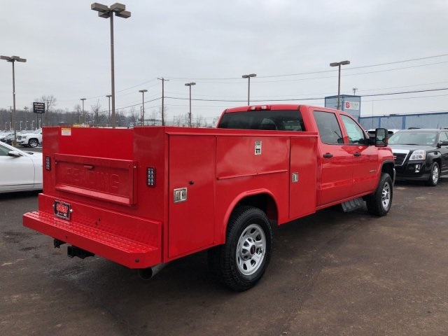 2018 Sierra 3500 Crew Cab 4x4 Service Body #Q28026 - photo 2