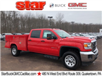 2018 Sierra 3500 Crew Cab 4x4 Service Body #Q28026 - photo 1