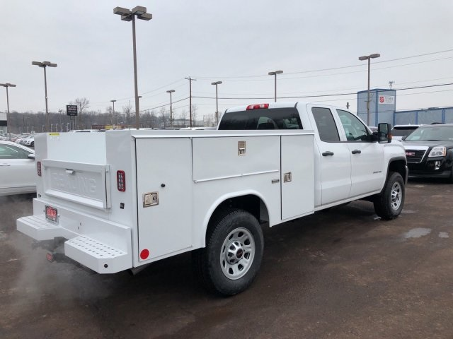 2018 Sierra 3500 Extended Cab 4x4, Reading Service Body #Q28037 - photo 2