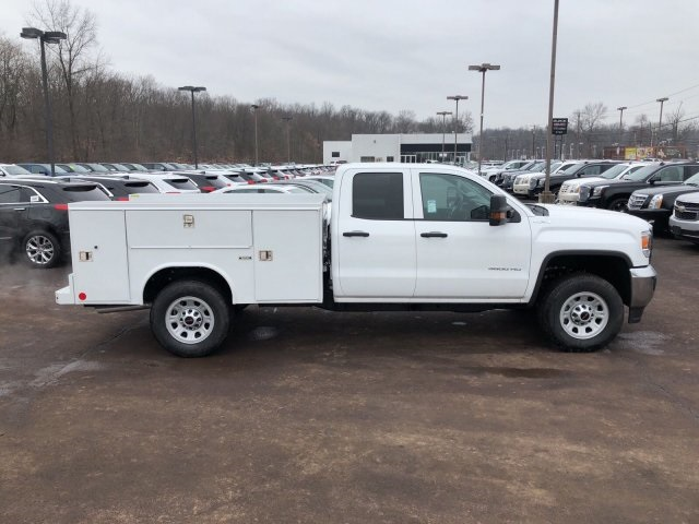 2018 Sierra 3500 Extended Cab 4x4, Reading Service Body #Q28037 - photo 15