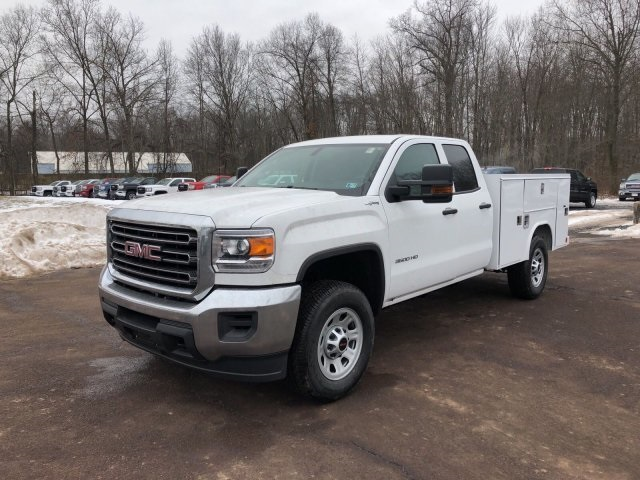 2018 Sierra 3500 Extended Cab 4x4, Reading Service Body #Q28037 - photo 4