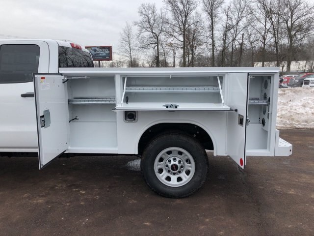 2018 Sierra 3500 Extended Cab 4x4, Reading Service Body #Q28037 - photo 6