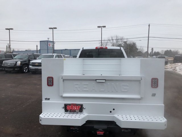 2018 Sierra 3500 Extended Cab 4x4, Reading SL Service Body Service Body #Q28037 - photo 10