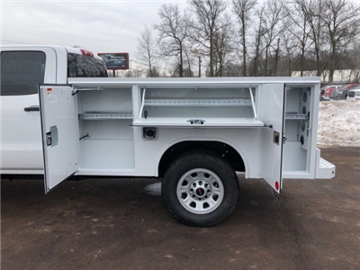 2018 Sierra 3500 Extended Cab 4x4, Reading SL Service Body Service Body #Q28037 - photo 6