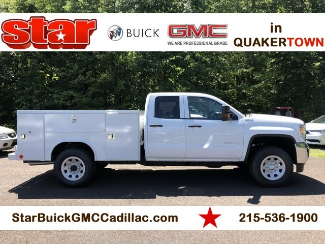 2018 Sierra 3500 Extended Cab 4x4,  Service Body #Q28123 - photo 9