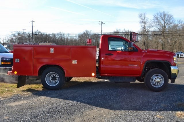 2019 Sierra 3500 Regular Cab DRW 4x4,  Reading Service Body #Q29006 - photo 5