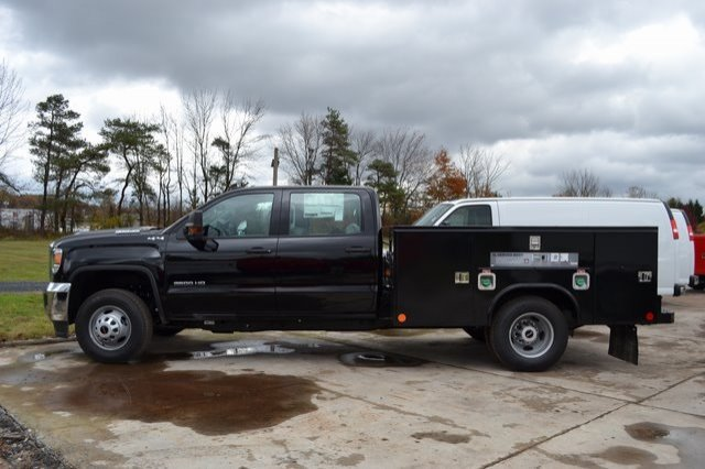 2019 Sierra 3500 Crew Cab DRW 4x4,  Service Body #Q29044 - photo 3