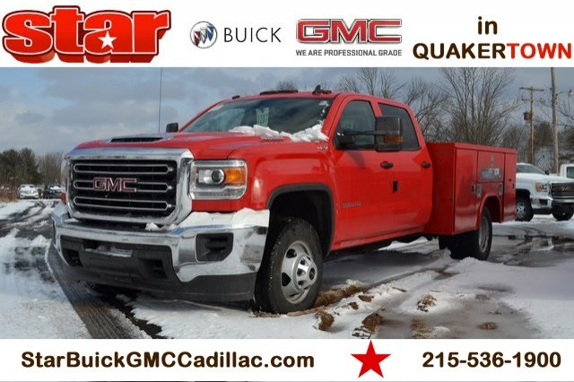 2019 Sierra 3500 Crew Cab DRW 4x4,  Reading Service Body #Q29046 - photo 1