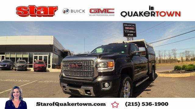 2019 GMC Sierra 3500 Crew Cab 4x4, Reading Service Body #Q21098A - photo 1