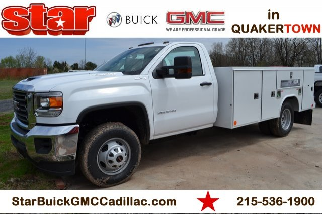 2019 Sierra 3500 Regular Cab DRW 4x4,  Reading Service Body #Q29088 - photo 1