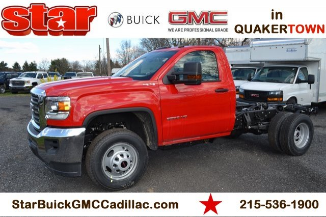 2019 Sierra 3500 Regular Cab DRW 4x4,  Cab Chassis #Q29107 - photo 1