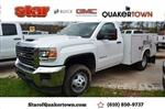 2019 Sierra 3500 Regular Cab DRW 4x4,  Reading Service Body #Q29134 - photo 1