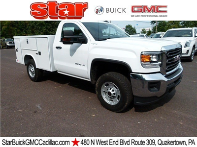 2017 Sierra 2500 Regular Cab 4x4 Service Body #Q470228 - photo 1