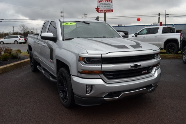 2016 Silverado 1500 Double Cab 4x4,  Pickup #Q490030A - photo 4