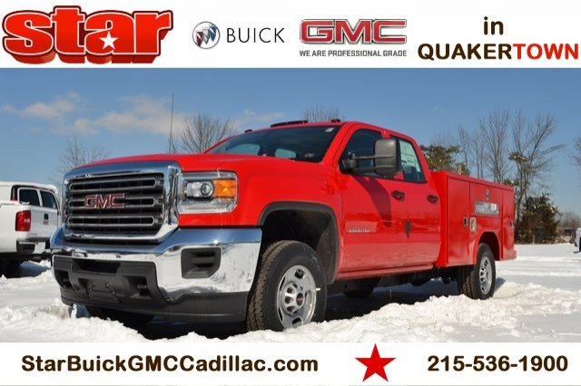 2019 Sierra 2500 Extended Cab 4x2,  Reading SL Service Body #Q490055 - photo 1