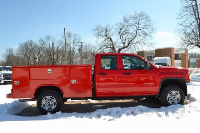 2019 Sierra 2500 Extended Cab 4x2,  Reading SL Service Body #Q490055 - photo 4