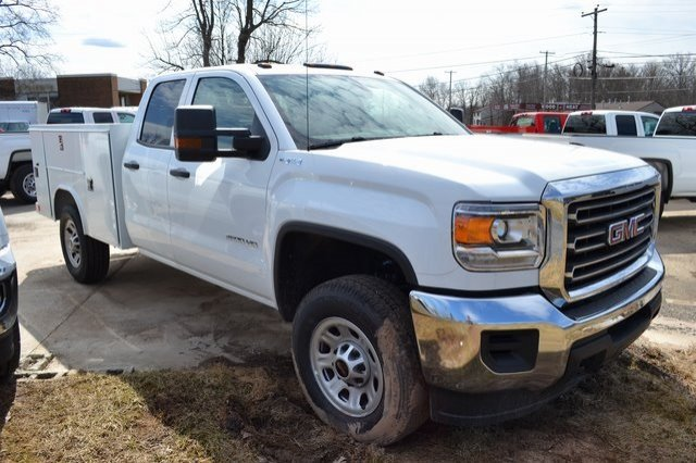 2019 Sierra 2500 Extended Cab 4x4,  Reading SL Service Body #Q490103 - photo 4