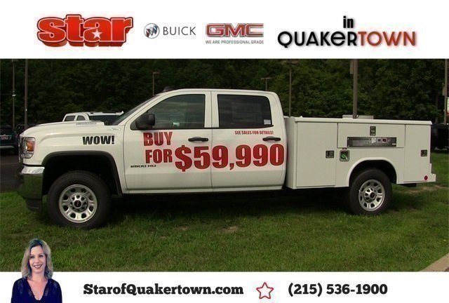 2019 Sierra 2500 Crew Cab 4x4,  Reading Service Body #Q490146 - photo 1
