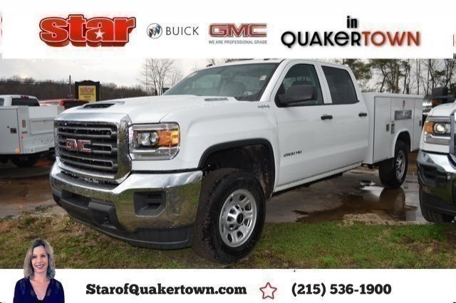 2019 Sierra 2500 Crew Cab 4x4,  Reading Classic II Aluminum  Service Body #Q490146 - photo 3