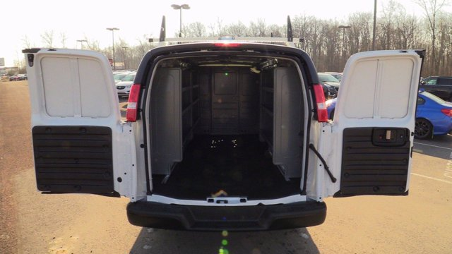 2020 GMC Savana 2500 4x2, Adrian Steel Upfitted Cargo Van #Q50072 - photo 8