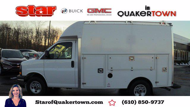 2021 GMC Savana 3500 4x2, Supreme Spartan Service Utility Van #Q51006 - photo 1