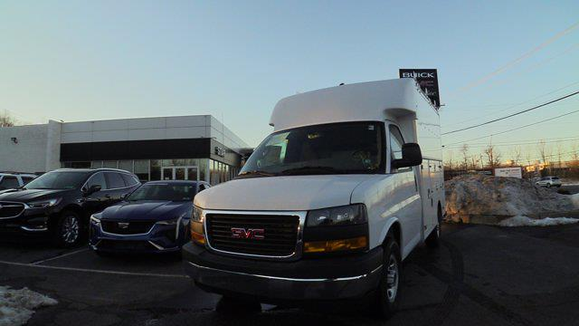 2021 GMC Savana 3500 4x2, Supreme Spartan Service Utility Van #Q51006 - photo 3