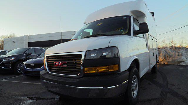 2021 GMC Savana 3500 4x2, Supreme Spartan Service Utility Van #Q51006 - photo 4