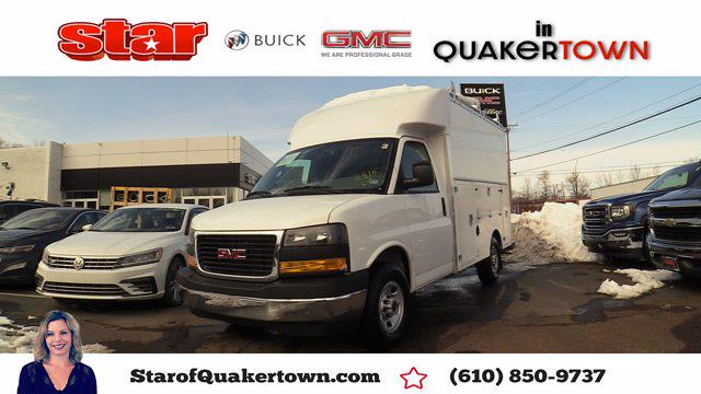 2021 GMC Savana 3500 4x2, Supreme Service Utility Van #Q51007 - photo 1