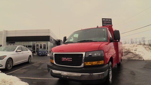 2021 GMC Savana 3500 4x2, Reading Service Utility Van #Q51010 - photo 3