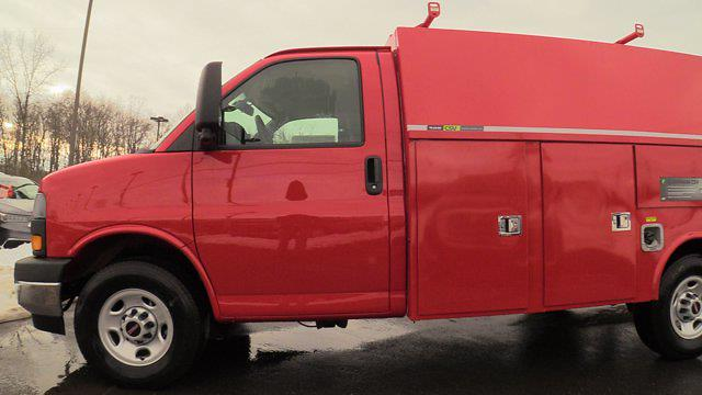 2021 GMC Savana 3500 4x2, Reading Service Utility Van #Q51010 - photo 6