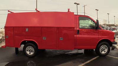 2021 GMC Savana 3500 4x2, Reading Service Utility Van #Q51010 - photo 28