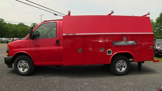 2019 Savana 3500 4x2,  Reading Aluminum CSV Service Utility Van #Q59048 - photo 4